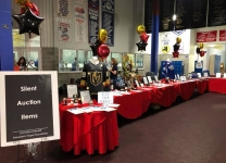 Silent Auction at the Alex Tuch 3 on 3 Pro Hockey Game to benefit Maureen's Hope Foundation.