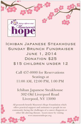 Maureen's Hope Foundation- Ichiban
