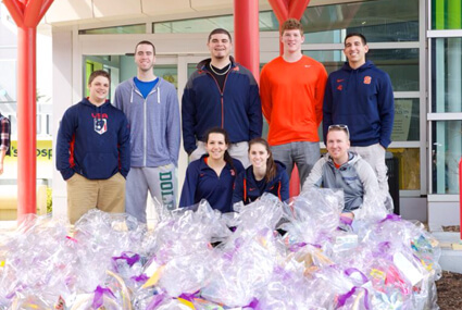 Maureen's Hope Foundation- Spring Baskets SUAthletes