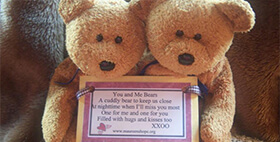 Maureen's Hope Foundation- You and Me Bears