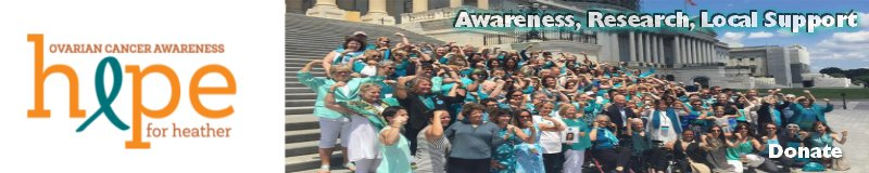 Hope for Heather Teal Ribbon Run
