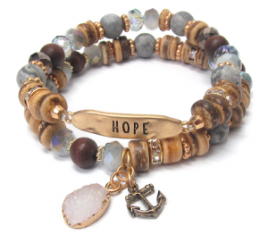 Hope Double with Anchor