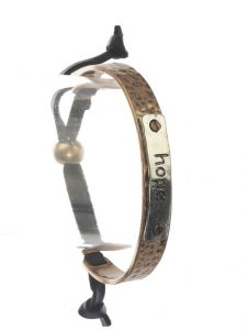 Hope Bangle Leather